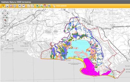 Célèbre Camargue : Natura 2000 dans le delta du Rhône.Le Parc naturel  CQ39